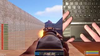 Rust - average player exposed on recoil scripts???!