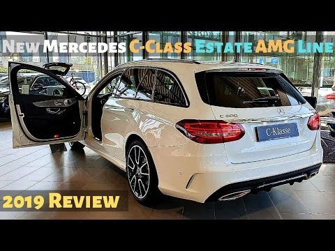 New Mercedes C-Class Estate AMG Line 2019 Review l Amazing Interior