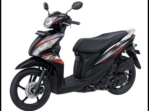 Honda Spacy Helm in PGM FI Striping Baru 2014