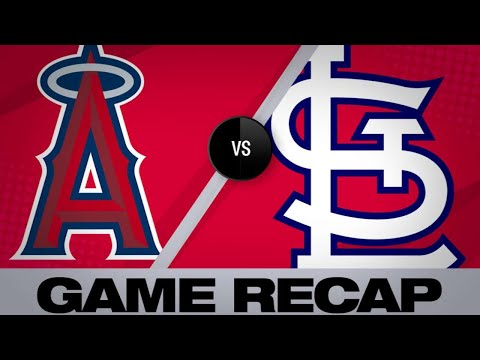 Ozuna, Hudson lead Cards past Angels, 4-2 | Angels-Cardinals Game Highlights 6/22/19