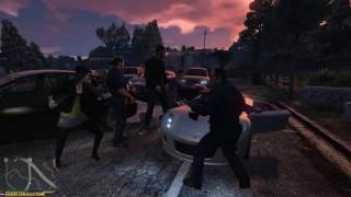 GTA 5 - Массовая драка 👊👊👊👊💪
