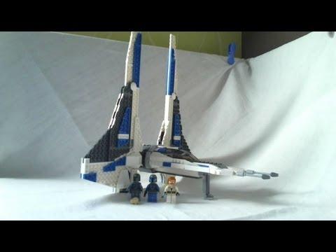 Vidéo LEGO Star Wars 9525 : Pre Vizsla's Mandalorian Fighter