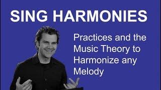 Harmonization - How to Harmonize - Principals of Harmonizing