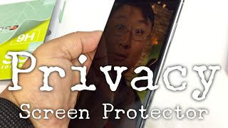 Hide Your Phone Screen with a Privacy Screen Protector