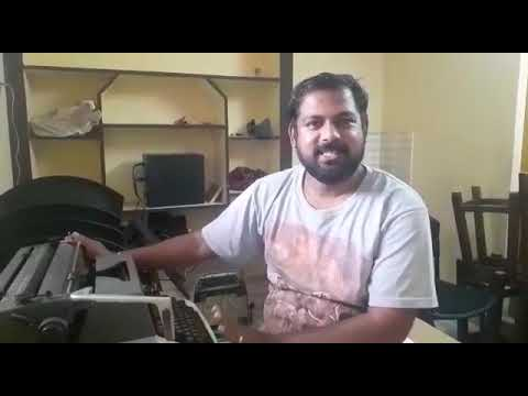 How to Buy a Typewriter in தமிழ் (Part-1)