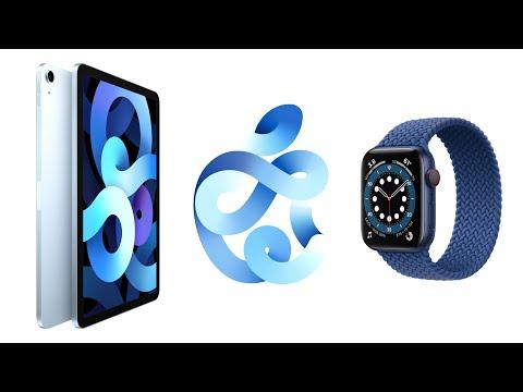 Apple veröffentlicht Apple Watch Series 6 & SE, iPad Air 2020 und iPad 8 + iOS 14 kommt!