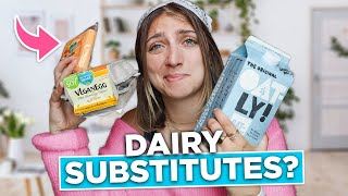 I Tried Every DAIRY SUBSTITUTE Food I Could Find... How Do They Taste?
