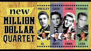 RAVE ON! 20/05/2017 The New Million Dollar Quartet