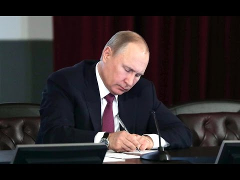 Vladimir Putin took part in an expanded meeting of the Interior Ministry Board.