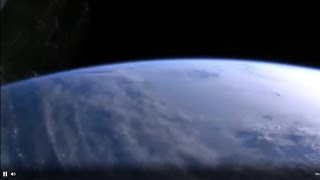 BREAKING  - CAUGHT LIVE - ISS STATION USTREAM - LARGE SPLIT PLANET  EUROPE AU-ANT
