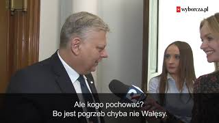 Makabryczne żarty Marka Suskiego z Lecha Wałęsy.