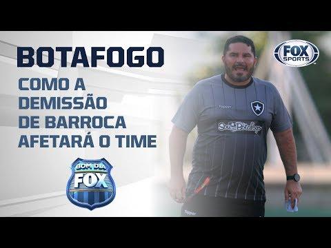 BOTAFOGO VAI CAIR NA TABELA? Bom Dia FOX avalia demissão de Barroca do Botafogo.