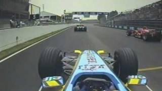 2005 Canadian GP- Fernando Alonso, Kimi Raikkonen