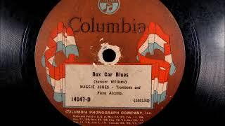 BOX CAR BLUES by Maggie Jones 1924