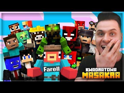 Dołączyłem do KWADRATOWEJ MASAKRY! Nie ma dla mnie miejsca?! Minecraft
