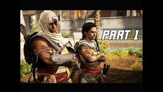Assassin's Creed Origins Gameplay Walkthrough Part 1 - Bayek & Aya (Hands on Impressions)