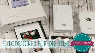 Quick Tipp #25 | Fotodrucker für die Reise | Klein & kompakt | Sind sie zu empfehlen?