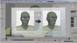 Face Robot Workflow - Part 11: Using Face Robot Animation in a Softimage Character Rig