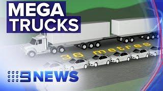 SCT's Managing Director, Geoff Smith, highlighting the impact of Mega Trucks on Australian roads