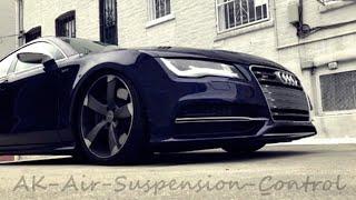 Audi A7 4G C7 & 4K C8 | Factory Air-Suspension Lowering-Module | Luftfahrwerk-Tieferlegungsmodul AAS