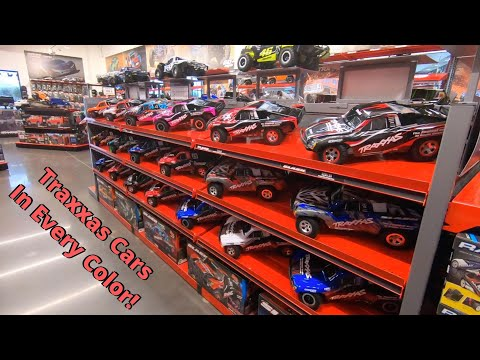 Shopping at The Traxxas RC Retail Store 2020 Remodel