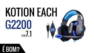 KOTION EACH G2200 Gaming Headphone USB 7.1 + Link Driver