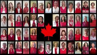 Westcoast Harmony Chorus - O Canada - Virtual Chorus [2020]