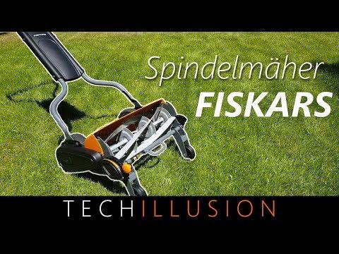 🛠FISKARS Spindelmäher StaySharp Max im Test  +VERLOSUNG😀! - Stay Sharp Max Fiskars - Review & Test