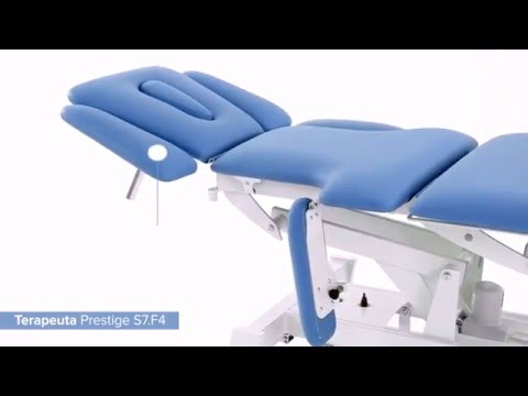 Massage and treatment table Prestige S7-F4 - product presentation