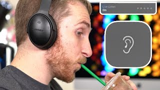 Use Live Listen to spy on people WITHOUT Airpods !
