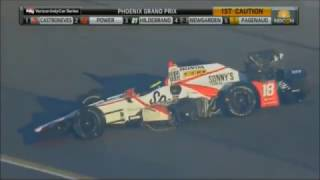 All IndyCar Crashes From The 2017 Desert Diamond West Valley Phoenix Grand Prix (Phoenix Raceway)