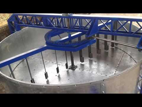 Secadora de cacao rotativa 30qq (gas)