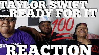 Taylor Swift - ...Ready For It? (Audio) REACTION