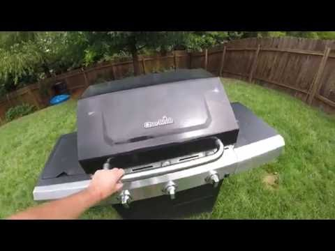 Charbroil 3 burner propane Infrared grill review after 1 year of use