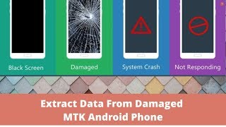 Copy data from damaged MTK Android Phone with USB Cable