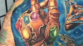 Guardians Of The Galaxy Tattoo