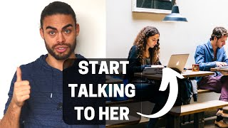 How to start talking to a girl sitting next to you