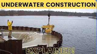 How Underwater Structures are Built – Cofferdam Explained