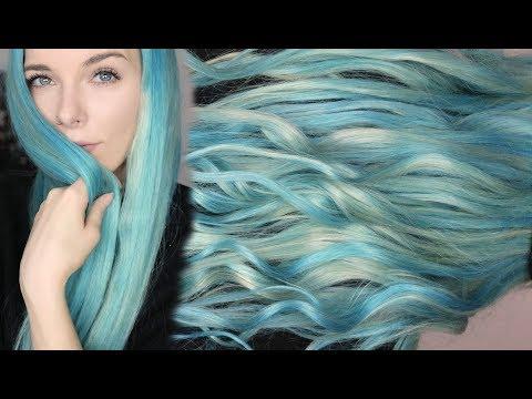 PASTEL OCEAN HAIR - Haare bunt tönen ohne Schäden Tutorial