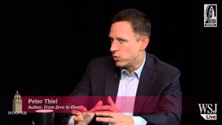 Peter Thiel on markets, technology, and education