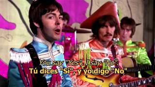 Hello, Goodbye - The Beatles (LYRICS/LETRA) [Original]