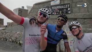 Tour de France | Stéphane Diagana reconnait la 14e étape en compagnie de Thomas Voeckler