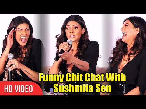 Funny Chit Chat With Sushmita Sen | I Am Woman Awards 2018