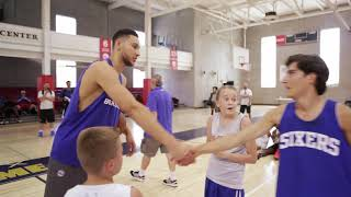 Take Your Game to the Next Level with 76ers Camps Promo