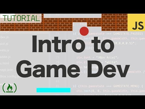 Intro to Game Development with JavaScript – Full Tutorial