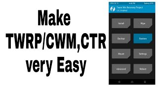 How To Flash TWRP Recovery Using SPD Flash Tool in