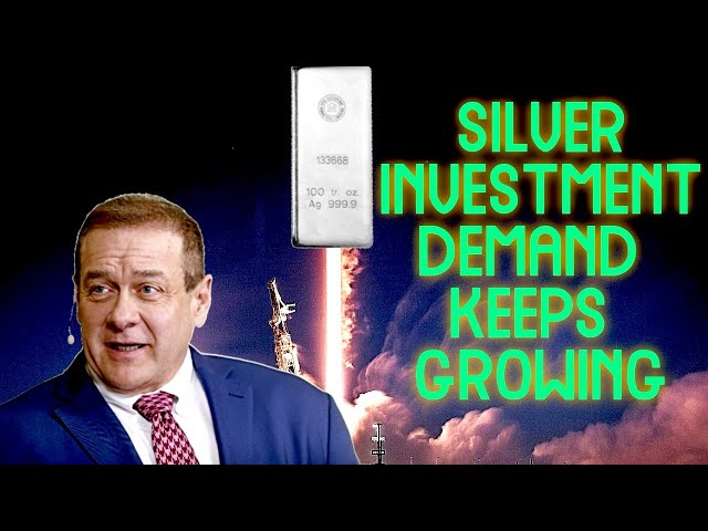Silver Investment Demand Continues to Rise