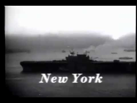Newsreel: US Fleet Home From The Wars (1945)