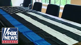Media Company Doubles Down On Pro-police Flag After Receiving Threats