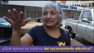 Zulianos se quejan de los nuevos racionamientos eléctricos   Kholo.pk